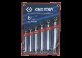 King Tony 6 részes csillagkulcskészlet 75° 6-17 mm