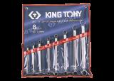 King Tony 8 részes csillagkulcskészlet 75° 6-23 mm