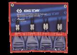 King Tony 4 részes zégerfogókészlet (európai típusú)
