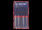 King Tony 5 részes reszelőkészlet 200 mm nyelezett