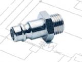 Gyorscsatlakozó - DN7,5 - külső menetes - dugó (KM)