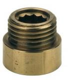 """3/4""""-10mm sárgaréz csaphosszabbító"""