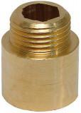 """3/8""""-20mm sárgaréz csaphosszabbító"""