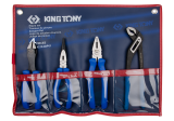King Tony 4 részes fogókészlet (európai típusú)