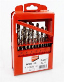 Makita HSS-G fémfúrókészlet 19 db-os