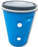 Esővízgyűjtő hordó kúpos 100 L / D471 kék