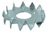 Szarufa összekötő tárcsa - Fogazott szöglemez