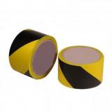 Kordon szalag (jelölőszalag) sárga fekete 75mm*100m