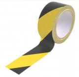 Kordon Ragasztószalag (jelölőszalag) 50mm*33m sárga fekete