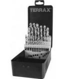 Terrax Csigafúró Készlet 1-13*0,5mm HSS-G DIN 338