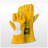 BLM Hegesztőkesztyű MIG/MAG Prémium sárga