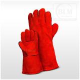 BLM Hegesztőkesztyű MIG/MAG piros