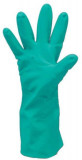 Cerva Grebe Nitril Egyszerhasználatos Kesztyű Zöld