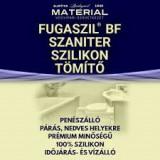 Fugaszil BF Szaniter Szilikon Tömítő 70 ml + Csőr Fehér