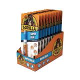 Gorilla Super Glue Gumirészecskés Gél Pillanatragasztó 3 G