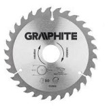 Graphite Körfűrészlap 160*30 mm  Z48 Keményfém