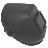 Hegeszstő Fejpajzs CE Üveggel Fekete, Műanyag