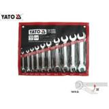 YATO 10 részes Villáskulcskészlet (6-27mm) CrV DIN3113 standard