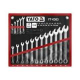 YATO 17 részes Villáskulcskészlet (8-32mm)  CrV DIN3113 standard