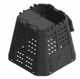 Komposztáló Patrol 420 L fekete