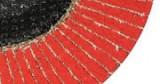 Flexmann For Cut Kerámia Lamellás Csiszolókorong 125*22mm Piros