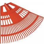 Lombseprű Műanyag 75 cm Íves Fix Narancssárga