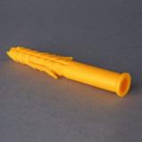Műanyag Tipli Sárga 12*130