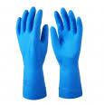 Cerva Spoonbill púdermentes kék nitril kesztyű 7/S  100 db/doboz