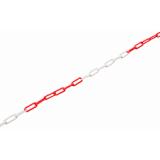 K Lánc Műanyag 6PF 6mm (5*20*50 mm) Piros-Fehér
