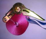 Rakományrögzítő Racsnis 1 Részes 1T/4M Rózsaszín