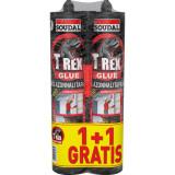 Soudal T-Rex Montage Glue Szerelő Ragasztó Piros 1+1 Gratis