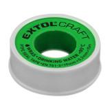 EXTOL CRAFT Teflonszalag 0,2mm*15m ivóvízhez