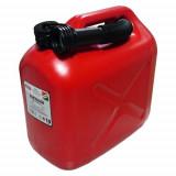 "Üzemanyag Kanna 10L Műanyag Piros 560G ""S"""