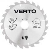 Verto Körfűrészlap Fához 160*30 mm Z48