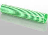PVC szívó nyomótömlő - ZÖLD - 5 bar