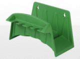 Tömlőtartó - Falra szerelhető műanyag (zöld)