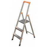 MONTO Solidy egy oldalon járható lépcsőfokos állólétra, 3 fokos