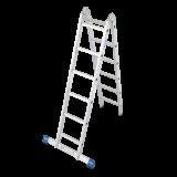 STABILO Professional csuklós állólétra, 2x6 fokos