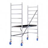 STABILO Professional gurulóállvány, 10 -es sorozat, mezőméret: 2.5 m x 0.75 m, munkamagasság: 3 m