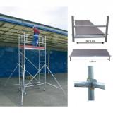 STABILO Professional gurulóállvány, 1000 -es sorozat, mezőméret: 3 m x 0.75 m, munkamagasság: 5.3 m