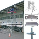 STABILO Professional gurulóállvány, 5000 -es sorozat, mezőméret: 3 m x 1.5 m, munkamagasság: 5.3 m