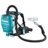 Makita DVC260ZX4 szénkefe nélküli akkumulátoros HEPA háti porszívó (akku és töltő nélkül)