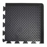 DP010010 Deckplate Connect ipari álláskönnyítő szőnyeg, sarok rész, 50 x 50 cm