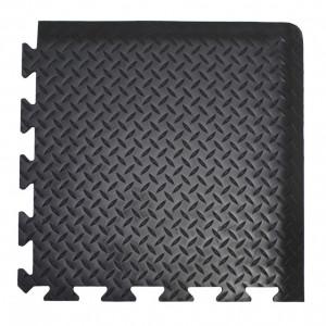 DP010010 Deckplate Connect ipari álláskönnyítő szőnyeg, sarok rész, 50 x 50 cm termék fő termékképe