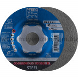 CC-GRIND-SOLID 115 SG STEEL