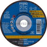 DUODISC E 100-2,8 PSF DUO STEELOX/16