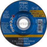 DUODISC E 115-1,9 PSF DUO STEELOX