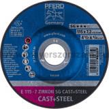 TISZTÍTÓKORONG E 115-7 ZIRKON SG CAST+STEEL