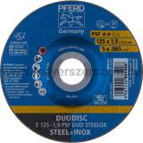 DUODISC E 125-1,9 PSF DUO STEELOX