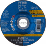 DUODISC E 125-2,8 PSF DUO STEELOX